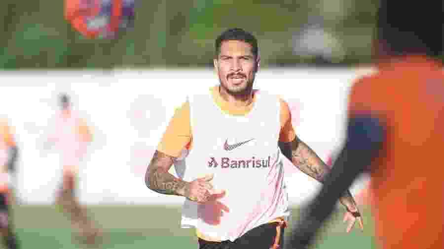 Paolo Guerrero poderá atuar a partir de 5 de abril pelo Interancional - Ricardo Duarte/Inter