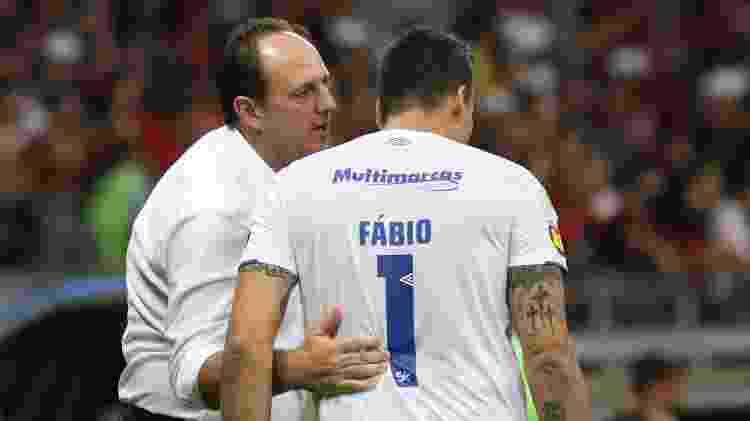 Rogério Ceni deixou o Cruzeiro com pouco tempo de trabalho e já retornou ao Fortaleza - Fernando Moreno/AGIF