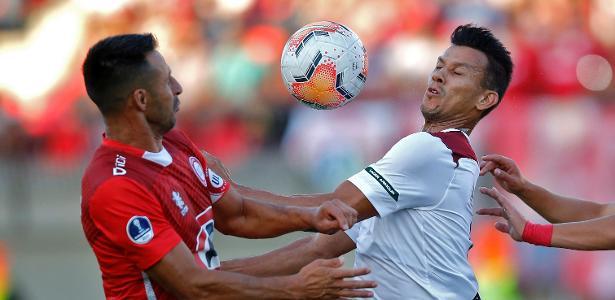 Sul-Americana   Flu joga mal, fica no 0 a 0 e é eliminado pelo Unión La Calera