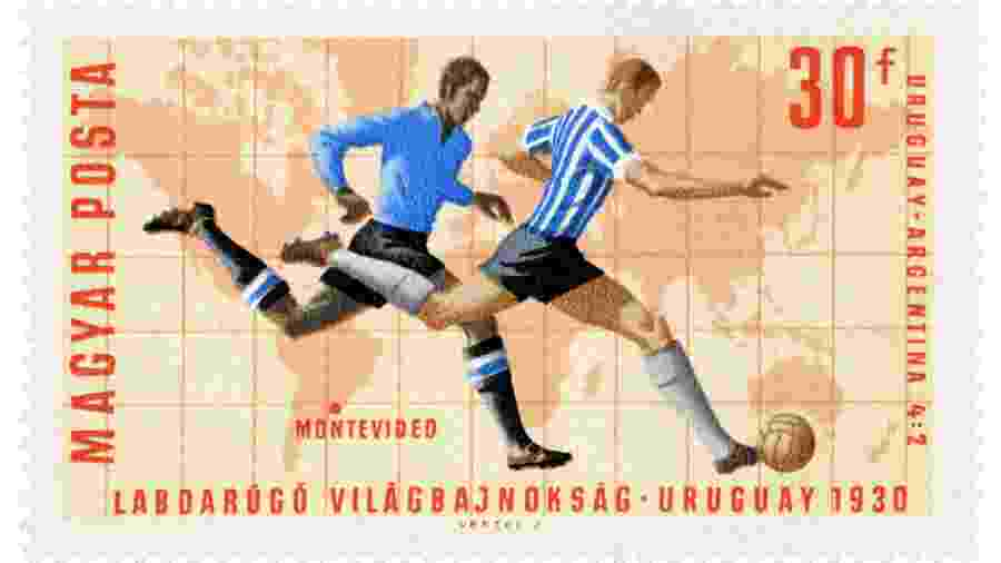 Cartaz da Copa do Mundo de 1930 - Fototeca Gilardi/Getty Images