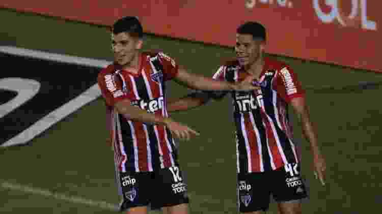 Gabriel Sara comemora gol - FABRÍCIO COSTA/FUTURA PRESS/ESTADÃO CONTEÚDO - FABRÍCIO COSTA/FUTURA PRESS/ESTADÃO CONTEÚDO
