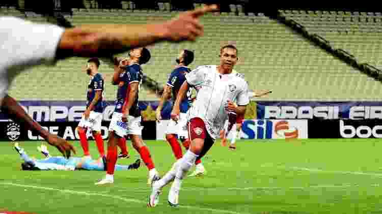 Wellington Silva exalta gol decisivo em retorno após lesão: 'Fui feliz' - Mailson Santana/Fluminense FC - Mailson Santana/Fluminense FC
