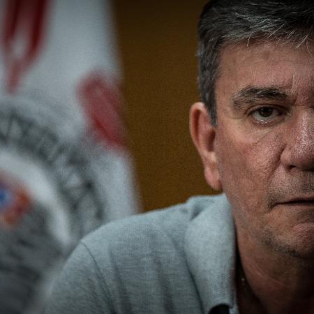 Andrés Sanchez, ex-presidente do Corinthians,  - Zanone Fraissat/Folhapress