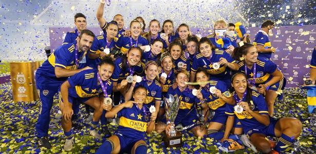 Primeiro título feminino pode virar estrela no escudo do Boca Juniors