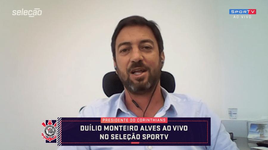 """Duílio Monteiro Alves em entrevista ao """"Seleção Sportv"""" - Reprodução / SporTV"""