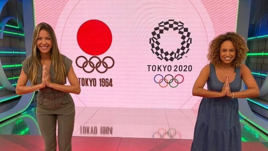 """Bárbara Coelho e Karine Alves: dupla inédita de apresentadoras no """"Esporte Espetacular"""" em maio - Reprodução/Globo"""