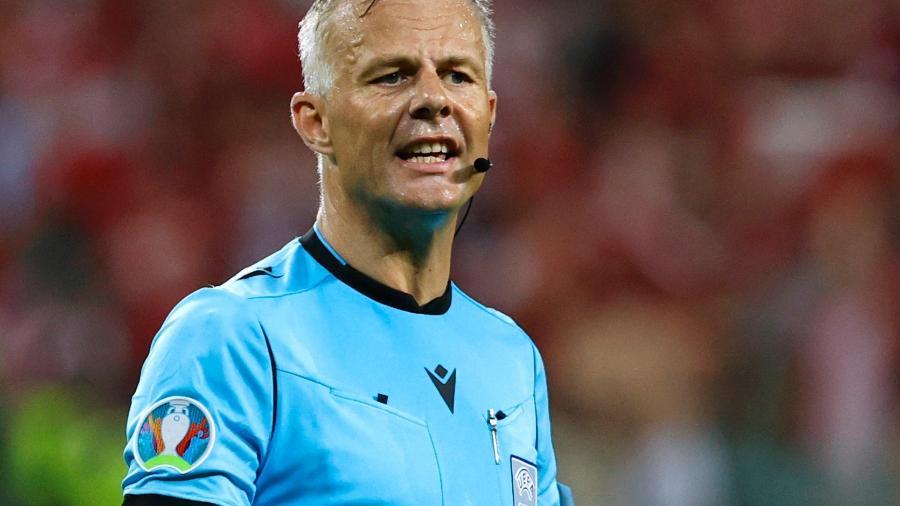 Bjorn Kuipers será o árbitro responsável pela final da Eurocopa entre Inglaterra e Itália - Pool via REUTERS
