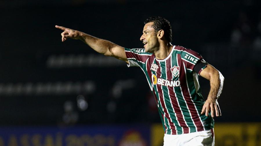 Fred abriu placar para o Fluminense de pênalti e se tornou 2º maior artilheiro da história do Brasileirão - Lucas Mercon/Fluminense FC