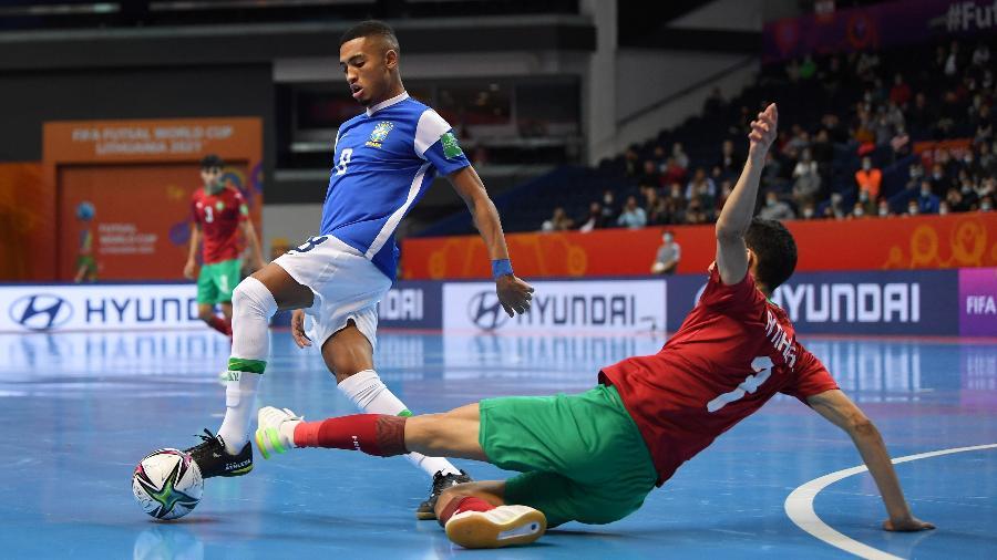 Seleção Brasileira enfrenta o Marrocos na Copa do Mundo de Futsal - GettyImages