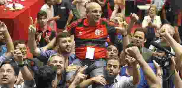 Bom trabalho da gestão de Bandeira de Mello dentro e fora de campo alavancou número de sócios - Gilvan de Souza/Flamengo