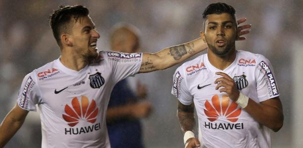 Lucas Lima e Gabigol voltam ao Santos após a eliminação do Brasil na Copa América