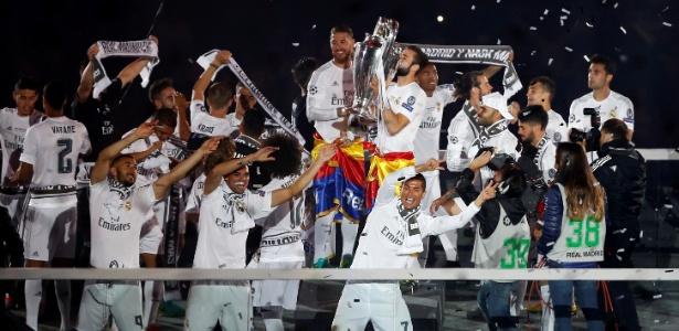 Título custou caro aos cofres do Real Madrid