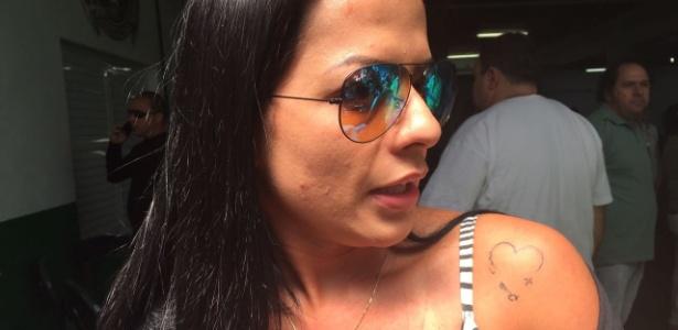 Rosângela Loureiro se atrasou para o velório do marido Cleber Santana