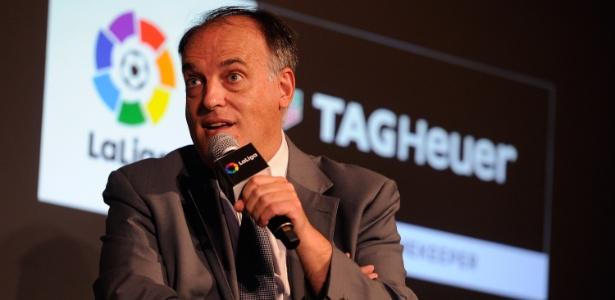 Javier Tebas, presidente da liga espanhola, foi o autor das críticas - Denis Doyle/Getty Images for Tag Heuer