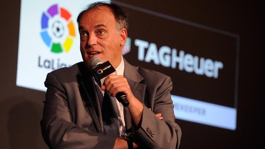 Javier Tebas, presidente da Liga Espanhola - Denis Doyle/Getty Images for Tag Heuer