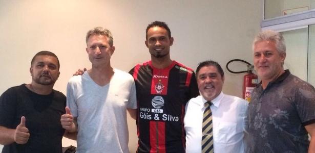 Goleiro Bruno Fernandes vestiu a camisa do Boa Esporte em março deste ano