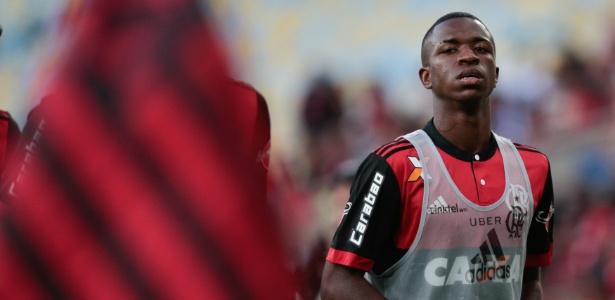 Vinicius Júnior é jogador do Real Madrid: cofre do Flamengo reforçado