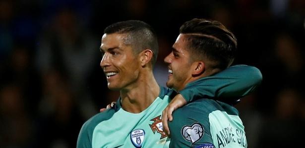 André Silva tem o apoio de Cristiano Ronaldo na seleção
