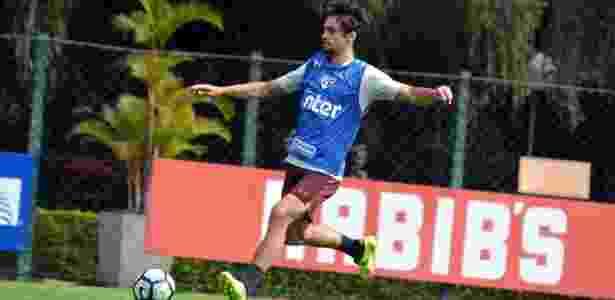 Rodrigo Caio se reapresenta ao São Paulo nesta terça-feira, no CT da Barra Funda - Érico Leonan/saopaulofc.net