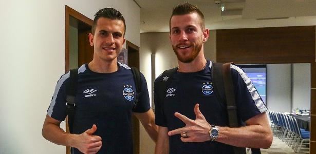 Marcelo Grohe e Paulo Victor deram segurança ao time do Grêmio com trabalho