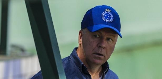 Mano Menezes, técnico do Cruzeiro - Geraldo Bubniak/Light Press/Cruzeiro