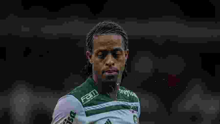Keno, na época em que atuava pelo Palmeiras - Pedro Vale/AGIF