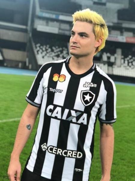 Felipe Neto, youtuber e torcedor do Botafogo - Reprodução/Instagram
