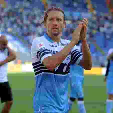 Lucas Leiva, meio-campista da Lazio - Marco Rosi/Getty Images
