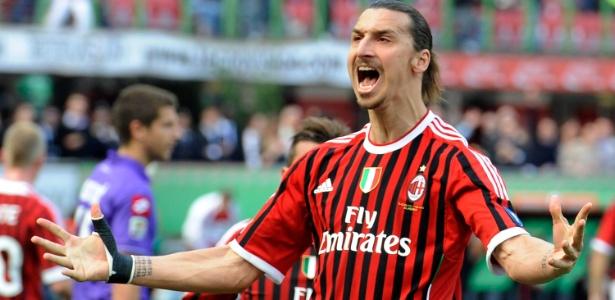 Durante sua passagem pelo Milan, Ibrahimovic atuou em 85 partidas e marcou 56 gols