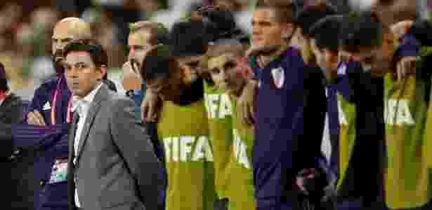 River Plate, do técnico Marcelo Gallardo, foi eliminado do Mundial pelo Al Ain - Andrew Boyers/Reuters