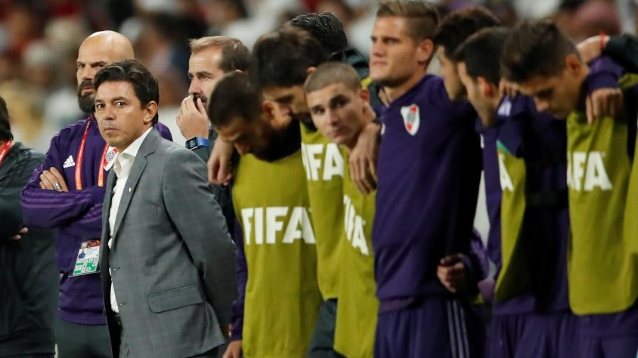 Para Marcelo Gallardo, derrota no Mundial de Clubes não apaga título histórico da Libertadores sobre o Boca Juniors - Andrew Boyers/Reuters