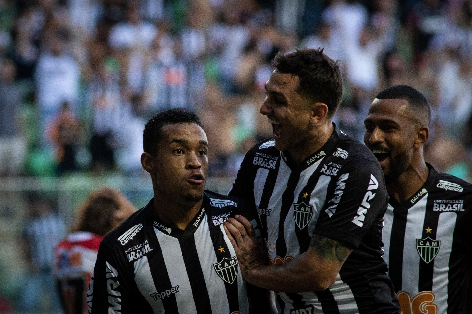8dff3a473f Alerrandro celebra jogo pelo Atlético-MG