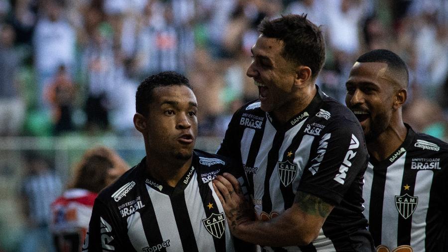 da68d7d6cbde4 Atlético-MG  Alerrandro cresce durante jejum de Ricardo Oliveira no Galo