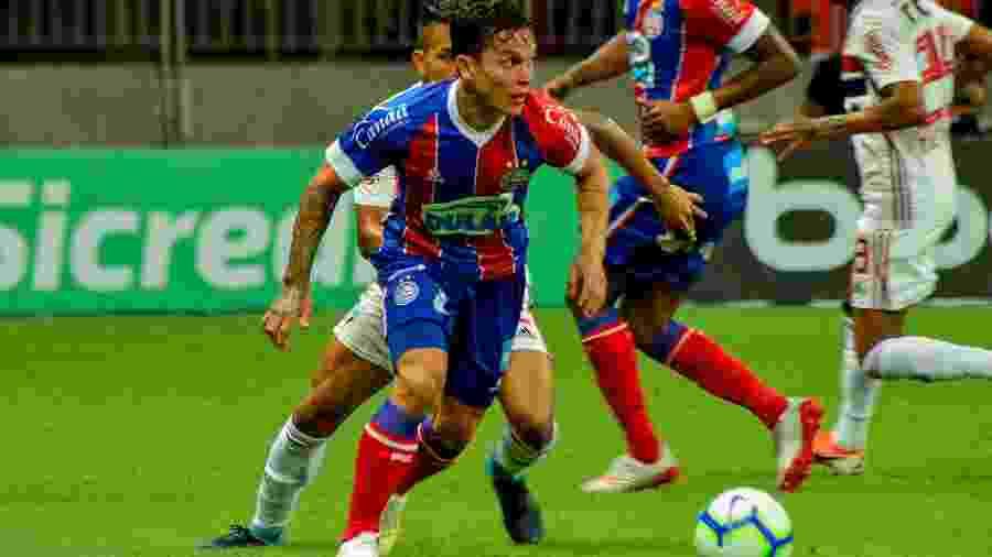 Destaque do Bahia em 2019, Artur deve ser vendido ao Bragantino pelo Palmeiras - Jhony Pinho/AGIF