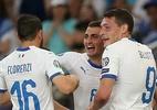 Itália bate Grécia fora de casa e segue 100% nas eliminatórias da Euro 2020 - Costas Baltas/Reuters