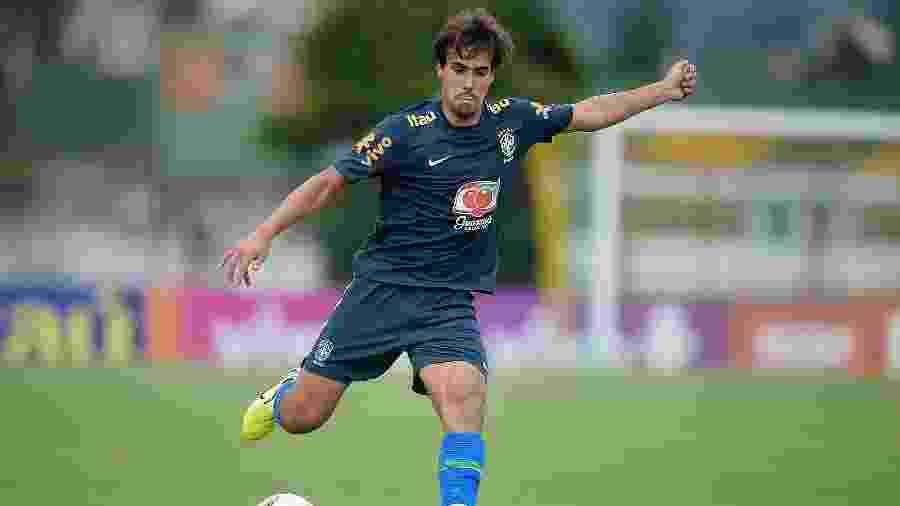 Igor Gomes em jogo-treino da seleção brasileira sub-23 - Alexandre Loureiro/CBF
