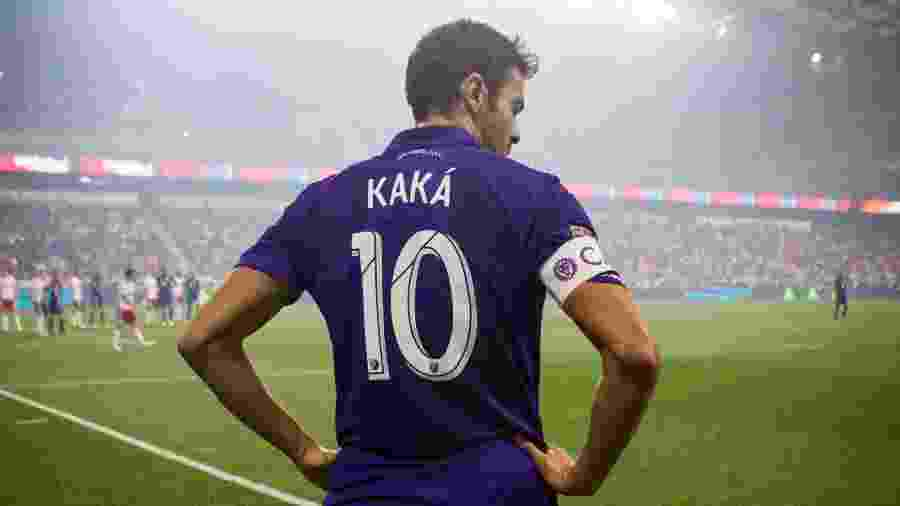 Kaká em campo durante partida pelo Orlando City - Ira L. Black/Corbis via Getty Images