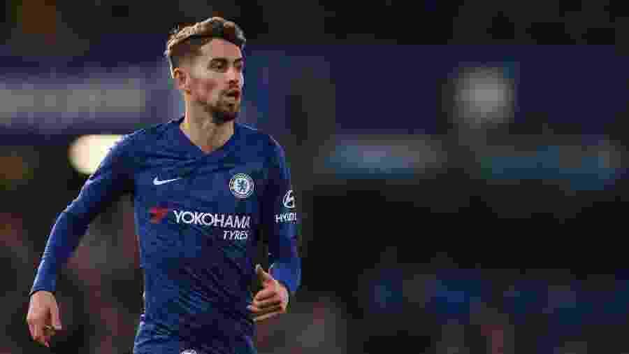 Jorginho, do Chelsea, é alvo da Juventus e pode deixar o Chelsea na próxima janela de transferências - James Williamson/AMA - via Getty Images