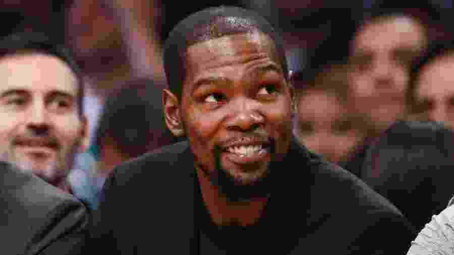 Kevin Durant, bicampeão da NBA e MVP das finais, adquiriu uma participação de 5% no Philadelphia Union - Chris Elise/NBAE via Getty Images
