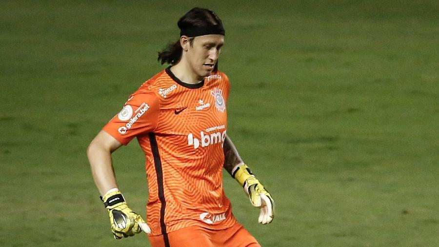 Cássio recebeu agradecimento de torcedores do Flamengo - Paulo Paiva/AGIF