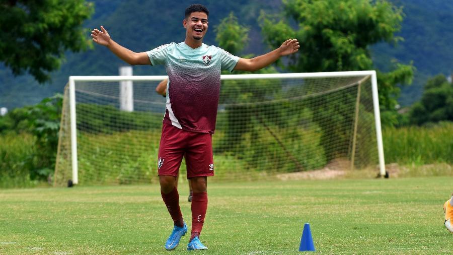Miguel é apontado como joia do Fluminense - Mailson Santana/Fluminense FC