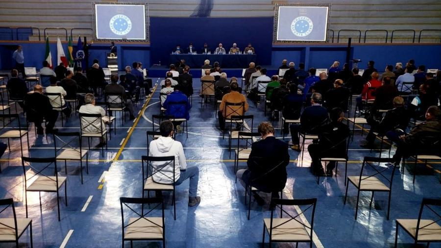 Conselho Deliberativo do Cruzeiro vota, em maioria, pela autorização para a implementação da SAF no clube - Divulgação/Cruzeiro