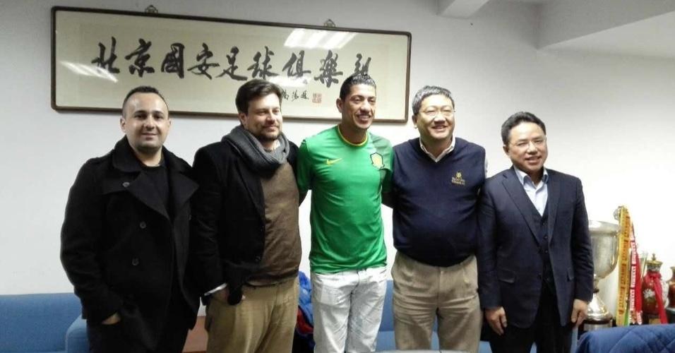 Volante Ralf é apresentado no Beijing Guoan