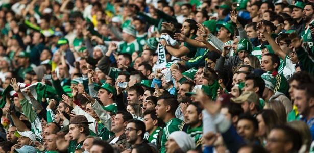 Torcida do Palmeiras já comprou 15 mil entradas para o jogo de quinta