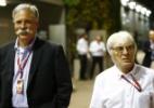 Emissora diz que Ecclestone deixará o comando quando Liberty assumir F1 - Reprodução/Twitter