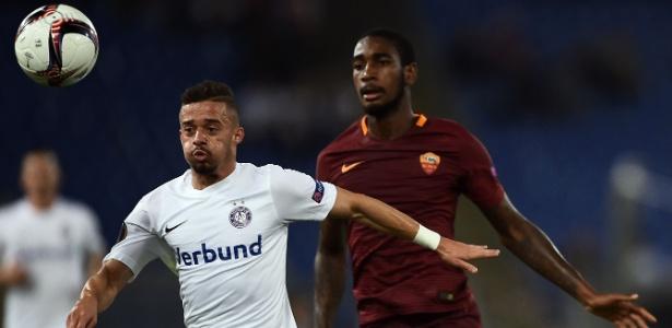 Gerson teve poucas oportunidades pelo Roma