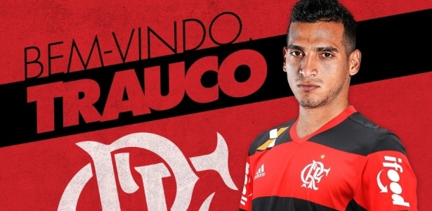 O lateral Miguel Trauco é o primeiro reforço do Flamengo para a temporada 2017