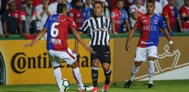 Atlético-MG levou a melhor sobre o Paraná no duelo pela Copa do Brasil