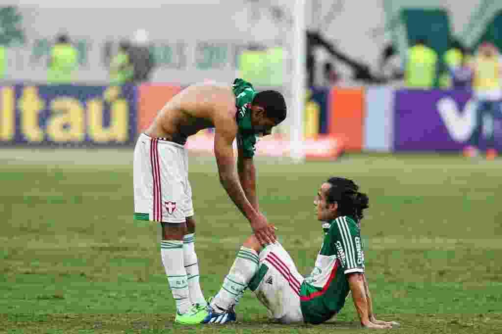 Valdivia jogou sem condições físicas para tirar Palmeiras do rebaixamento - undefined