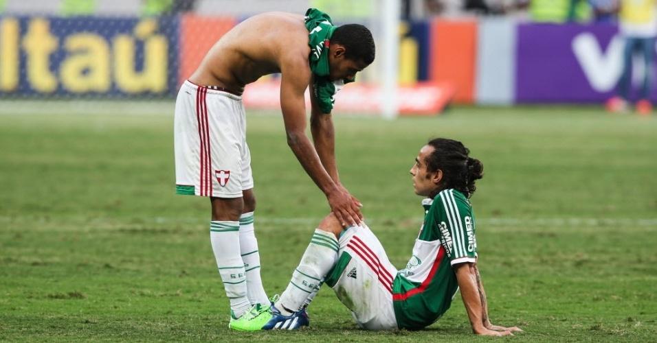 Valdivia jogou sem condições físicas para tirar Palmeiras do rebaixamento